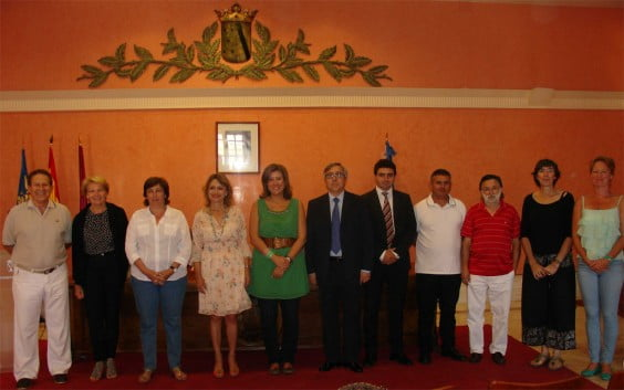 Sponsors and organizers of Urbanizarte in Dénia