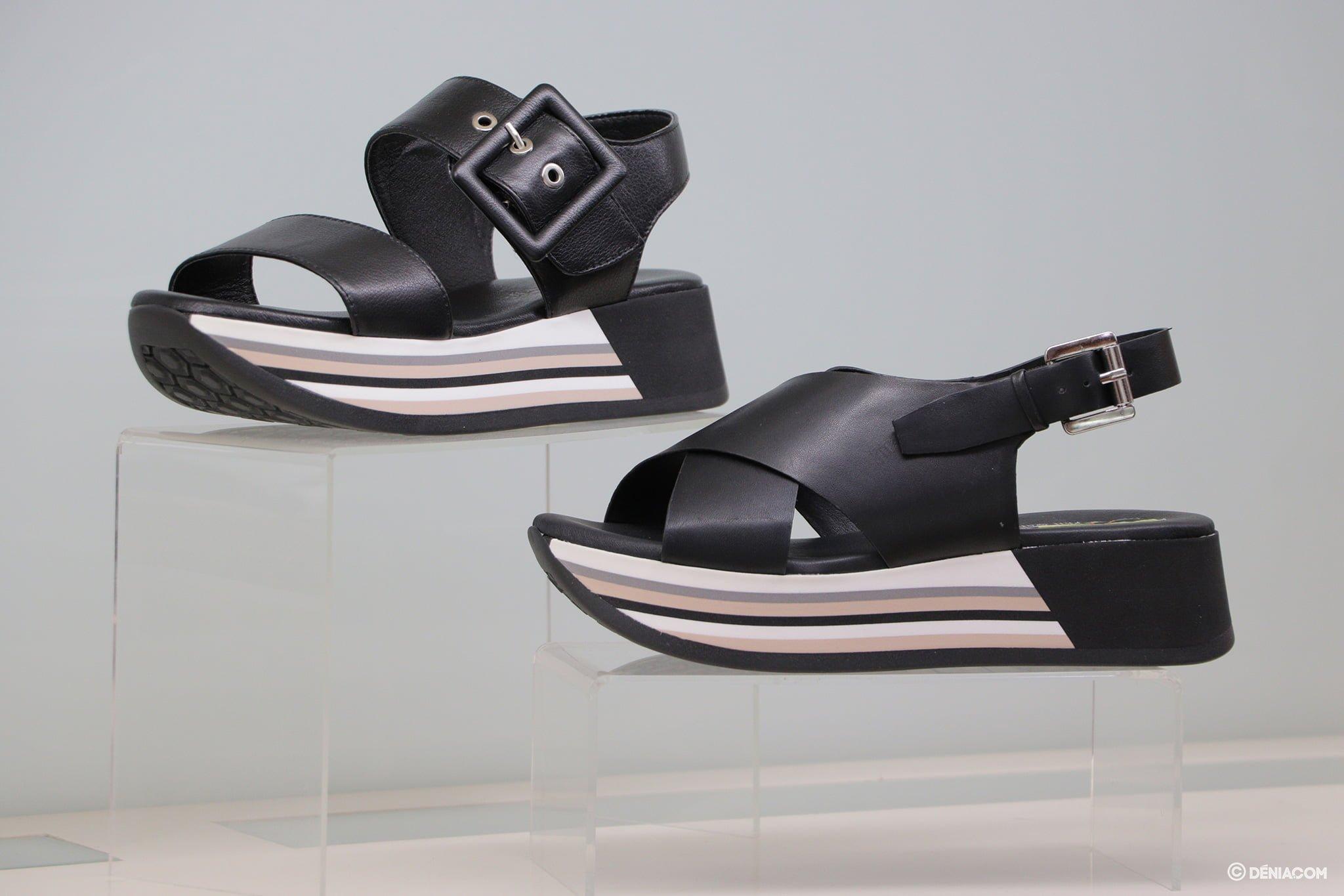 Black sandals Calzados Ramón Marsal