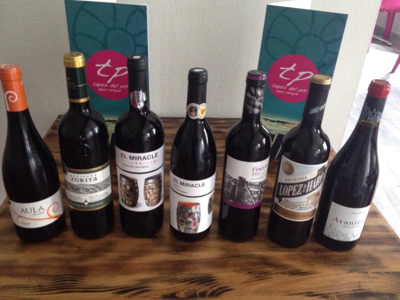 vinos tapes del port