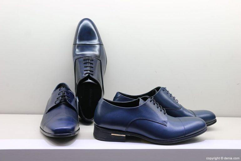 Zapatos azules Calzados Ramón Marsal