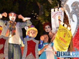 110 Carrozas de Dénia 2013 - Falla Oeste primer premio