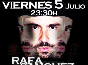 Actuación Sound System Funk-Soul-Rock Live Music Rafa Sánchez en PAddy O'Conell Dénia, viernes 5 de julio a las 23.30 horas
