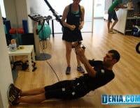Body Design Dénia, ejercicios de EMS, electro estimulación de baja frecuencia