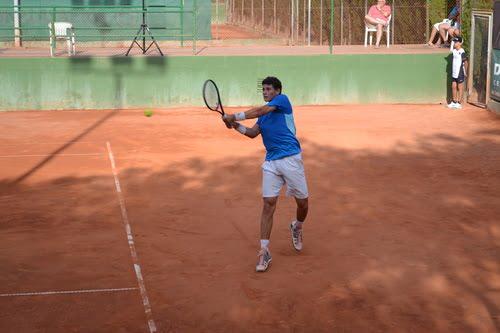 David Vega vencedor del XXXV Torneig Orysol Dénia de Tennis.