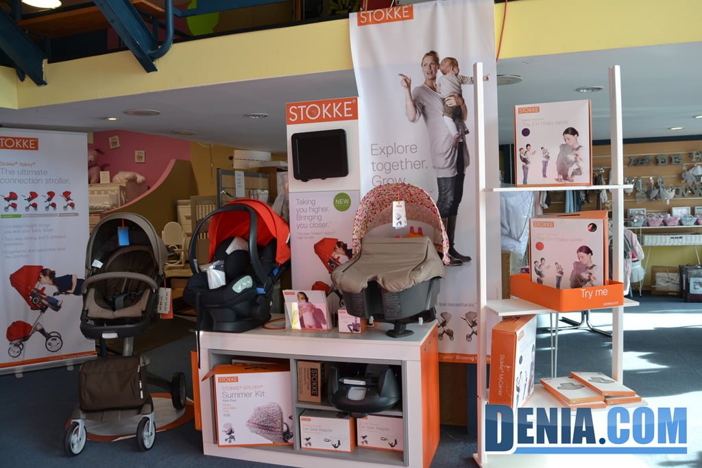 En Baby Shop pots trobar la marca Stokke