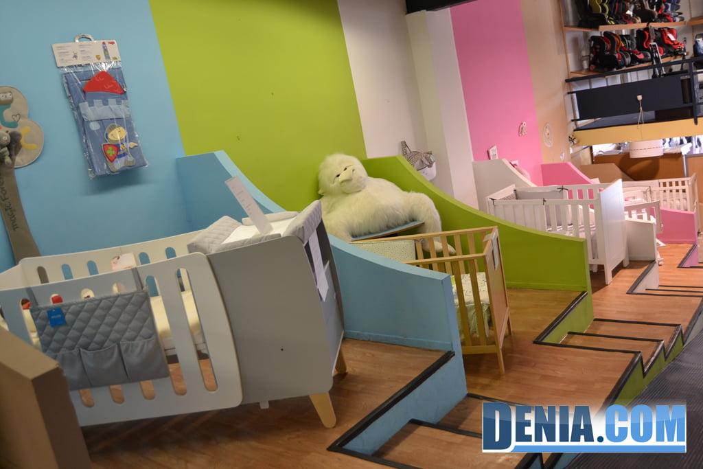 Exposició de mobiliari infantil a Baby Shop