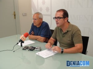 Jordi Serra, councilor and deputy of the PSPV of Dénia requires the Consellería to collect funds for the future socio-sanitary area of La Pedrera