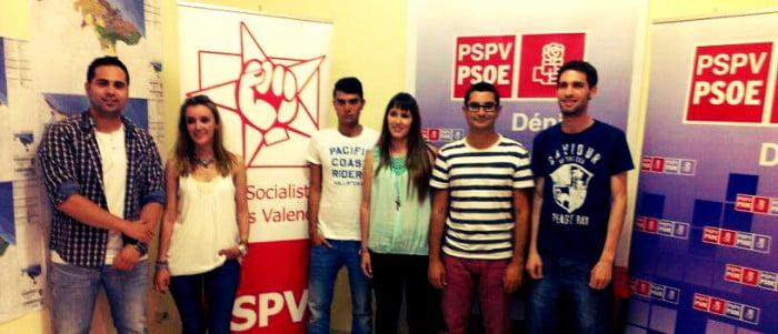 Sandra Gertrudix, nueva secretaria general de los Jóvenes  Socialistas de Dénia, Marina Alta