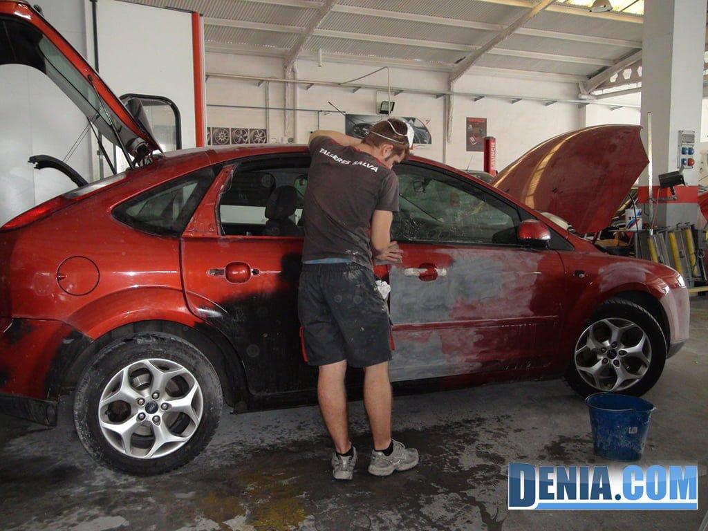 Talleres Salvá, arreglos de chapa y pintura para tu coche