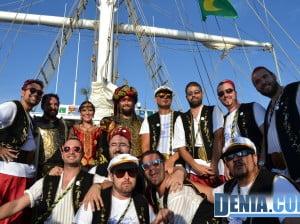 Desembarco moro en Dénia - Filà Abencerrajes