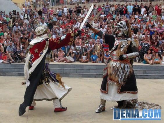 Batalla de moros y cristianos en Dénia