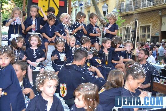 Desfile infantil Moros y Cristianos Dénia - Filà Deniers