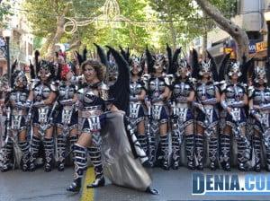Desfile de gala de Moros y Cristianos Dénia 2013 - Filà Almogàvers