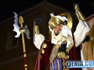 Boato de la capitanía mora 2013 - Rafa Cheli Capitán moro