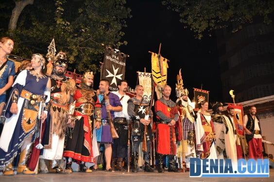 Desfile de retreta Moros y Cristianos Dénia