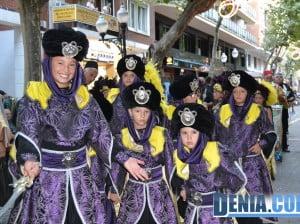 Desfile infantil Moros y Cristianos Dénia - Filà Wallies