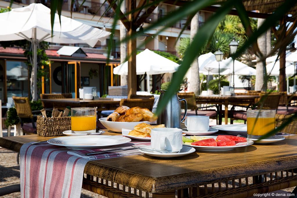 Desayuno Hotel Los Ángeles
