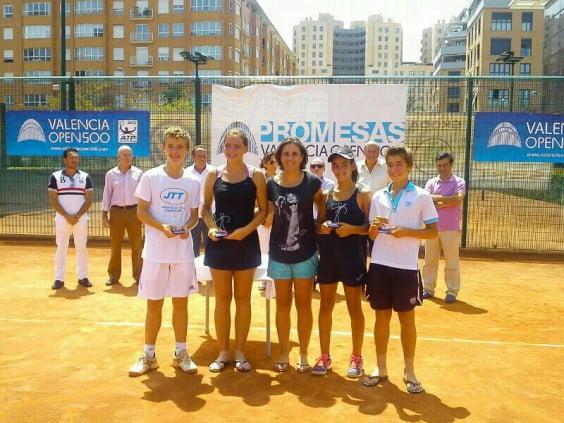 Entrega de Trofeos del Open 500 del Sporting Club Valencia