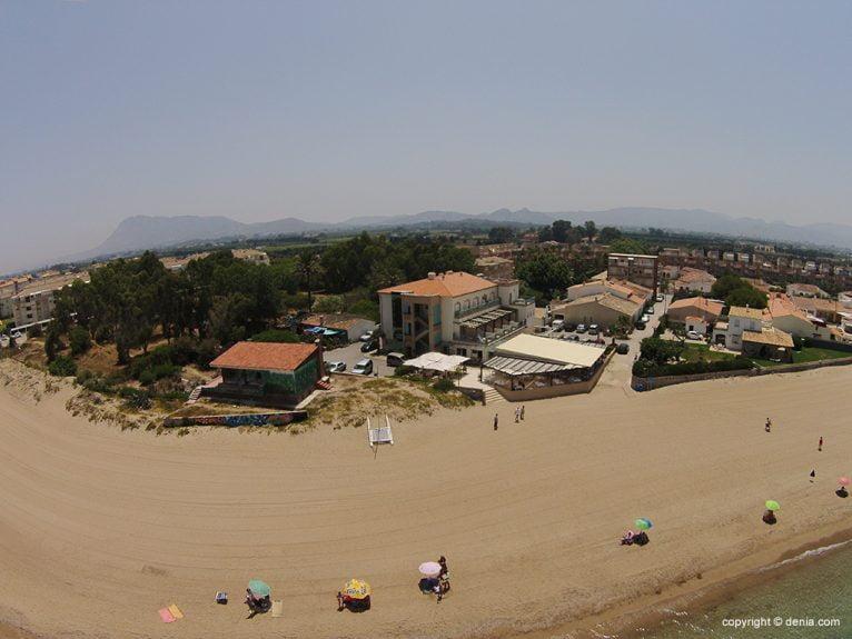 Playa en Dénia - Noguera Mar Hotel