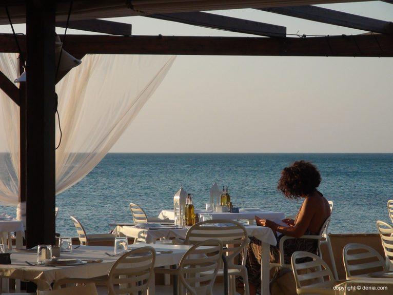 Hotel Noguera Mar terrassa llibre