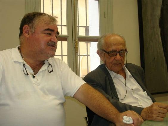 Josep Antoni Gisbert und Guillem Rosselló-Bordoy in Dénia