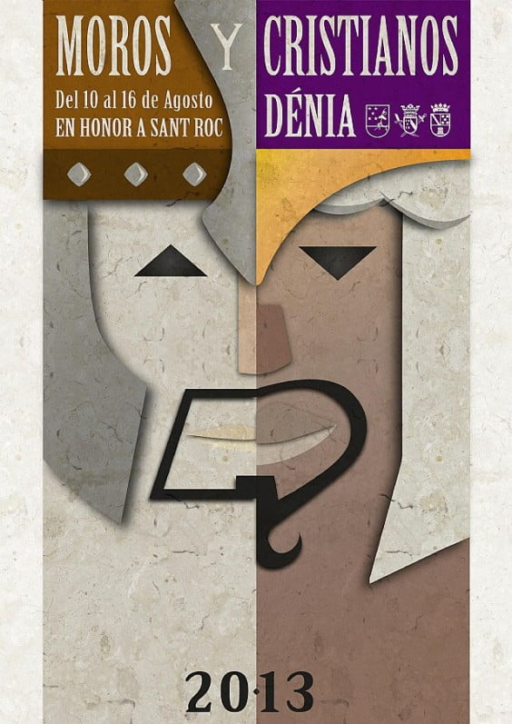 Libro de fiestas de Moros y Cristianos 2013 Dénia