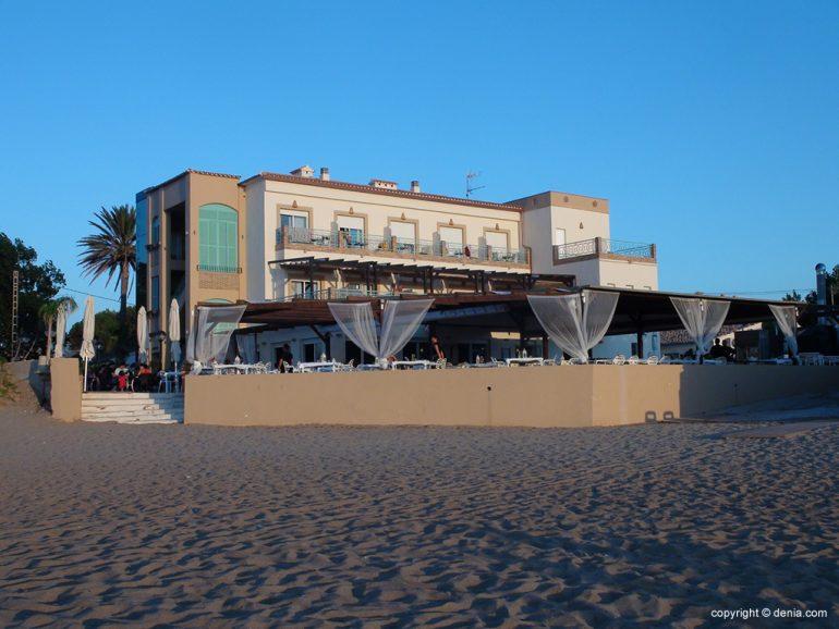 Noguera Mar Hotel, Hotel costat de la platja Dénia