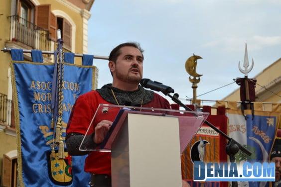 Pregón de Moros y Cristianos Dénia 2013 03 - Vicent Ahuir