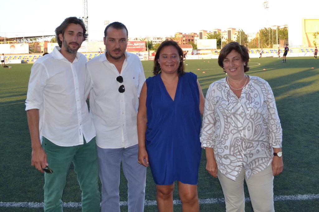 Kiko Catalan, presidente del Levante UD. en la presentación del CD. Dénia