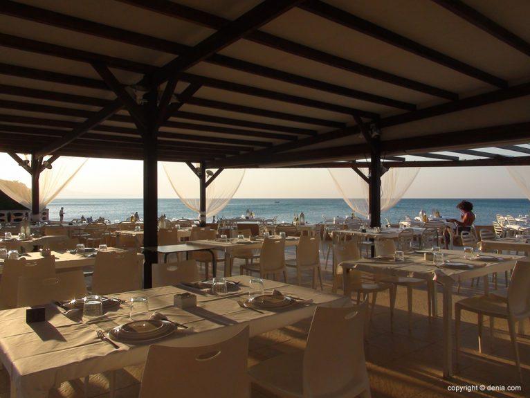 Noguera Mar Hôtel Terrasse Tables