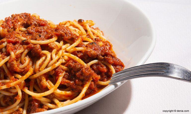 Deliciosos espaguetis Sandunga 52