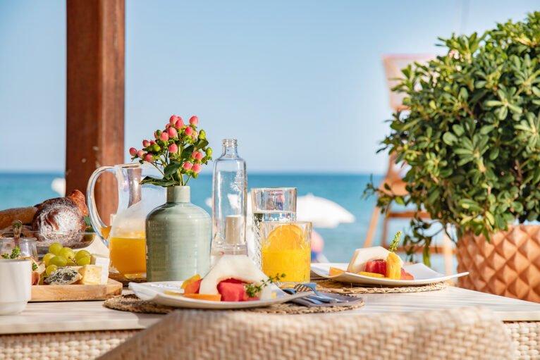 Desayuno playa en Dénia - Hotel Los Ángeles