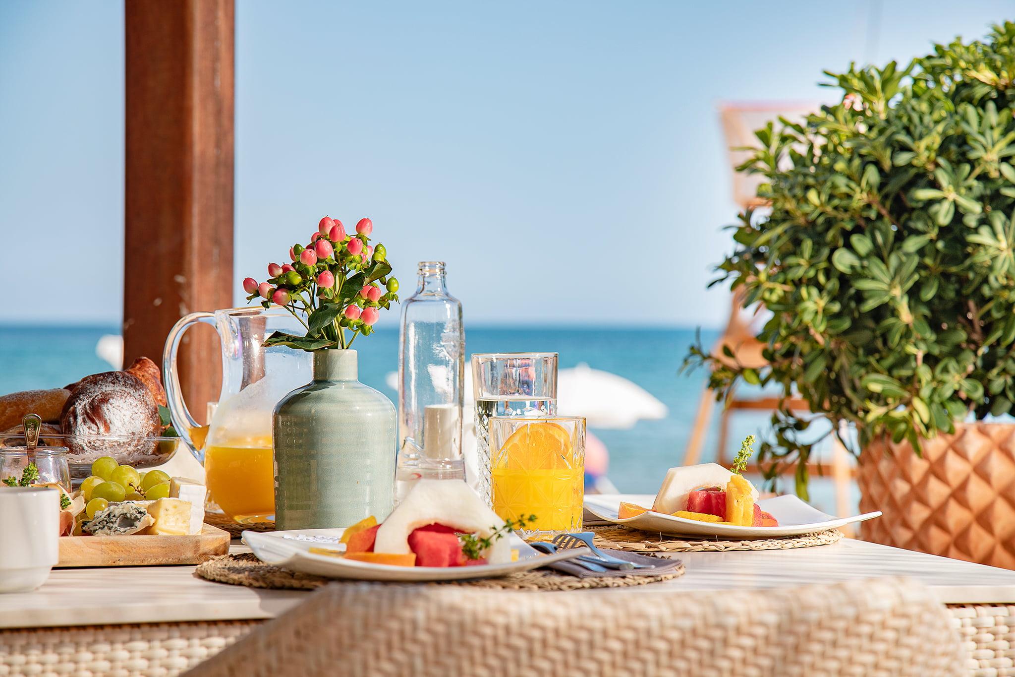 Desayuno playa en Dénia – Hotel Los Ángeles