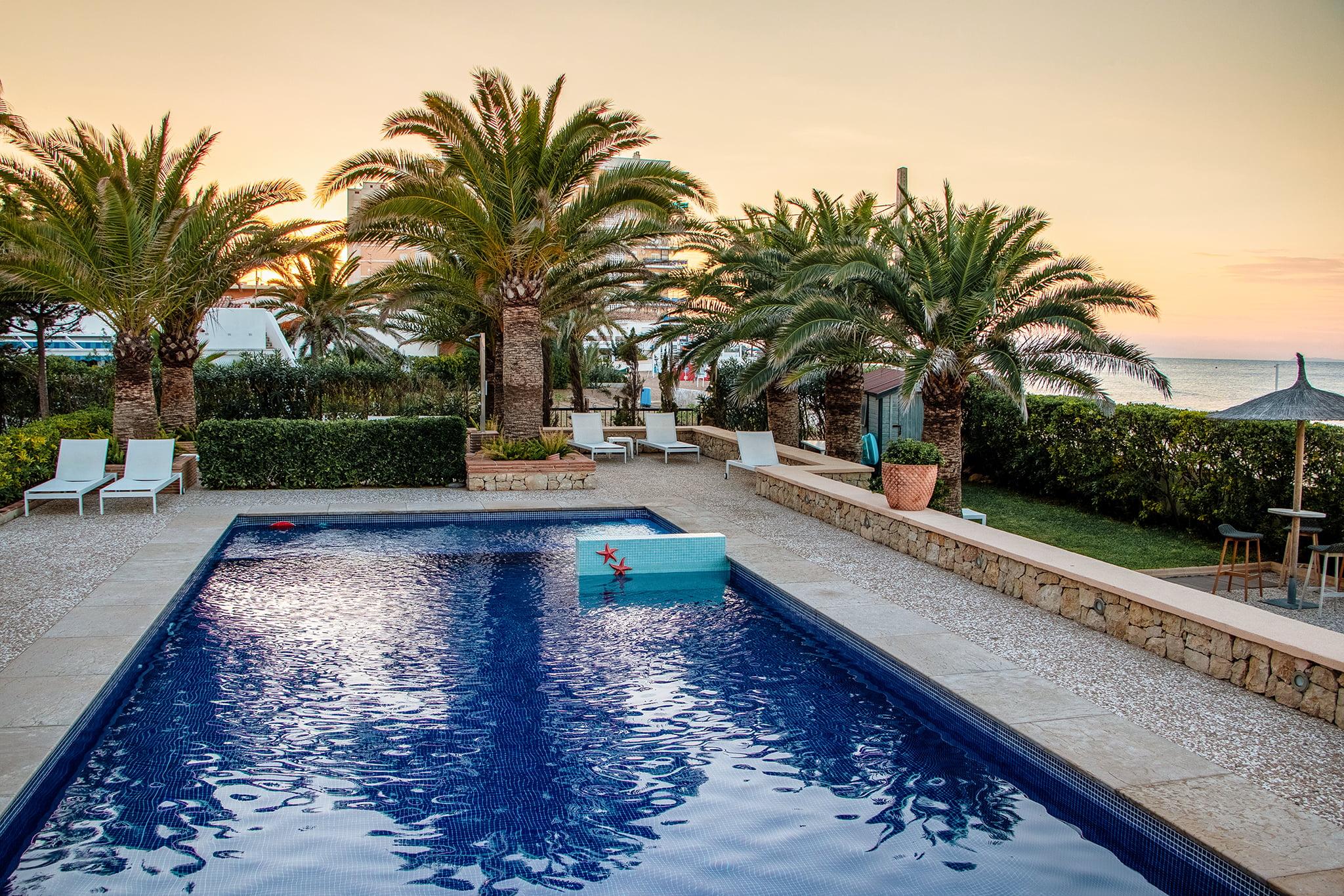 Hotel con piscina en Dénia – Hotel Los Ángeles