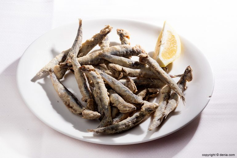 Pescado frito Sandunga 52