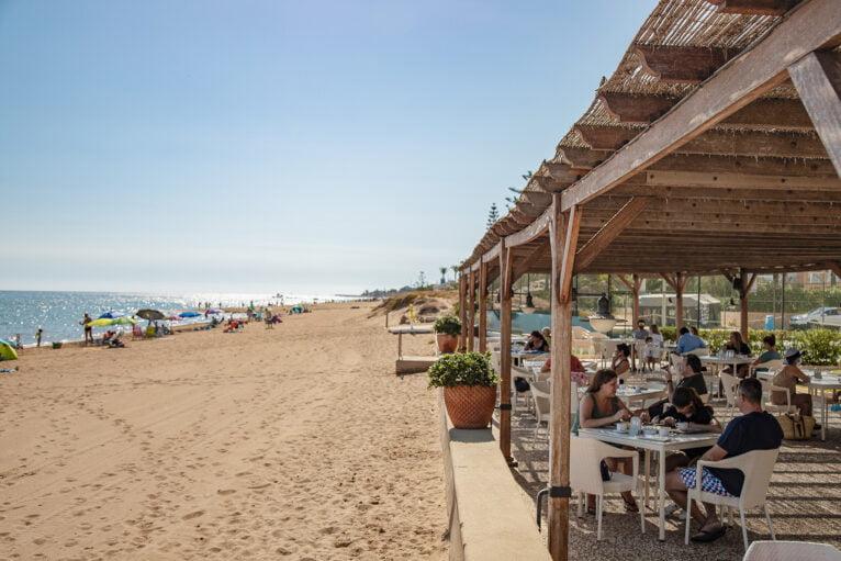 Restaurante en la playa Dénia - Hotel Los Angeles