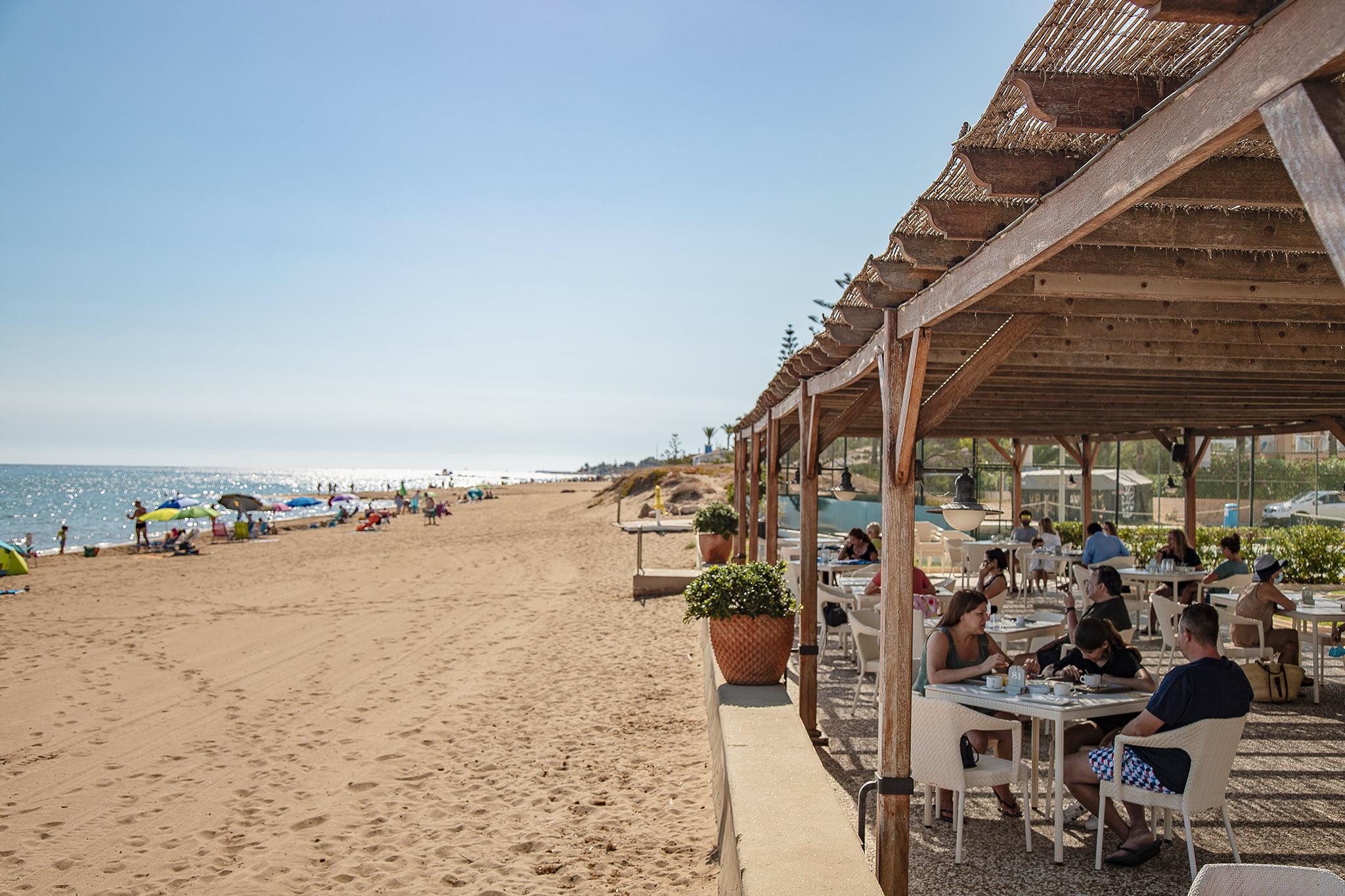 Restaurante en la playa Dénia – Hotel Los Angeles