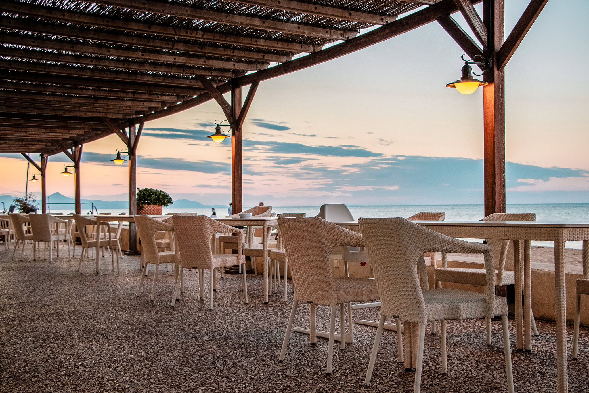 Restaurante frente al mar en Dénia – Hotel Los Angeles