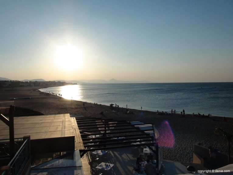 Posta de Sol a Hotel Mar Noguera
