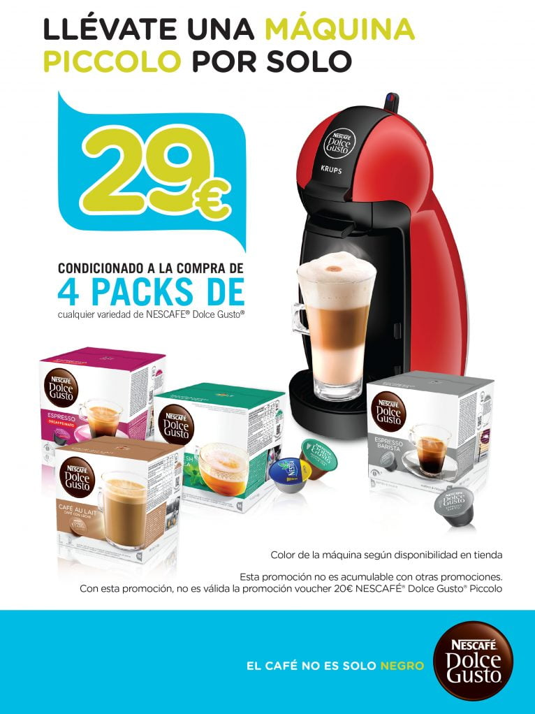 Cafetera Dolce Gusto Pineda