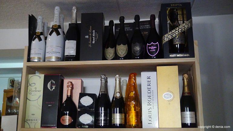 champagnes premium