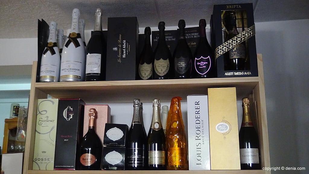 champagnes haut de gamme