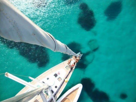 Cursos de navegaciñón a vela en Navega, Velas y viento