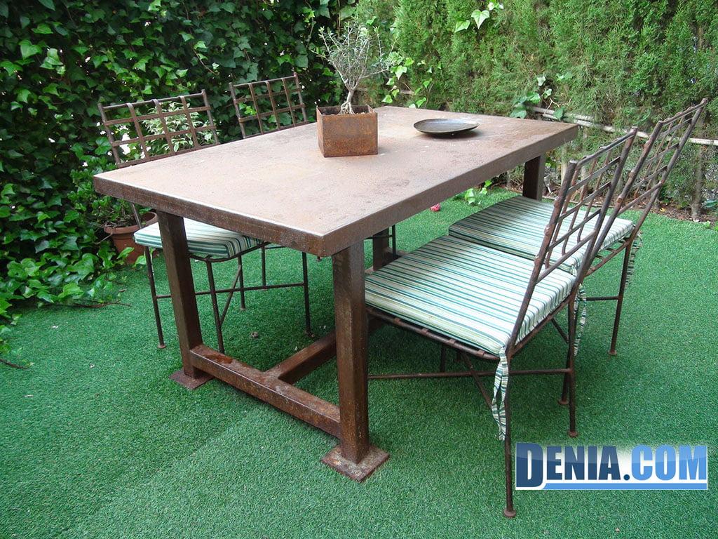Ferrer a paco moll conjunto de mesa y sillas de exterior - Sillas y mesas exterior ...