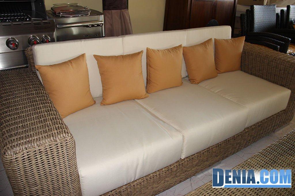 Mobelsol d nia muebles de exterior sof de jard n o terraza amplio de 5 plazas d - Muebles en denia ...