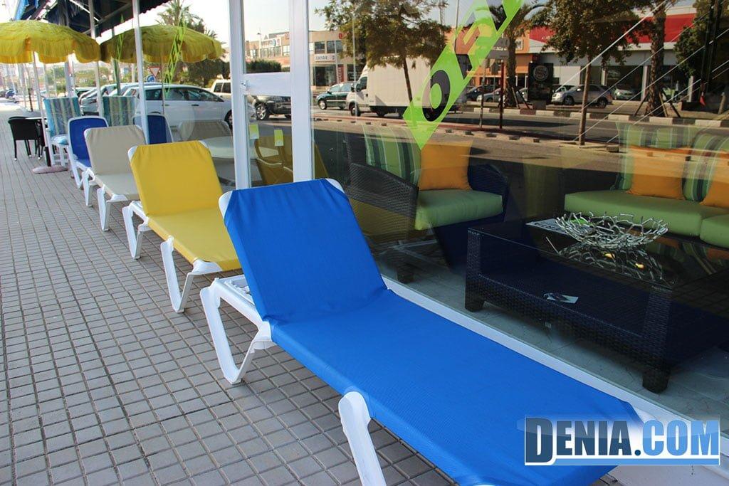 Mobelsol d nia tumbonas y amacas para piscina terrazas y for Piscinas y terrazas ideales