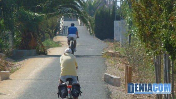 Ruta ciclista por Dénia - Via Verde