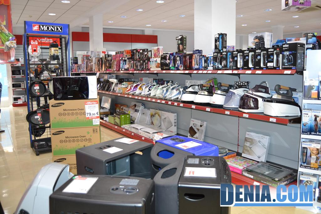 Venta de electrodomésticos en Dénia – Pineda Saladar