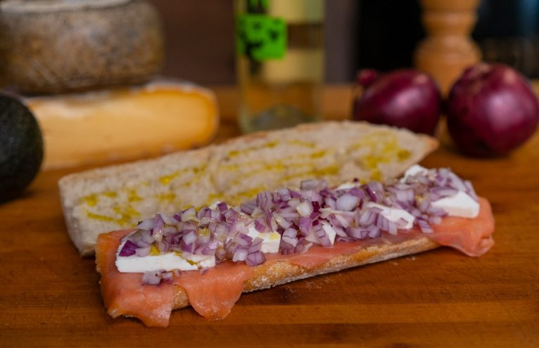 Sandwich au rosadito El Mosset