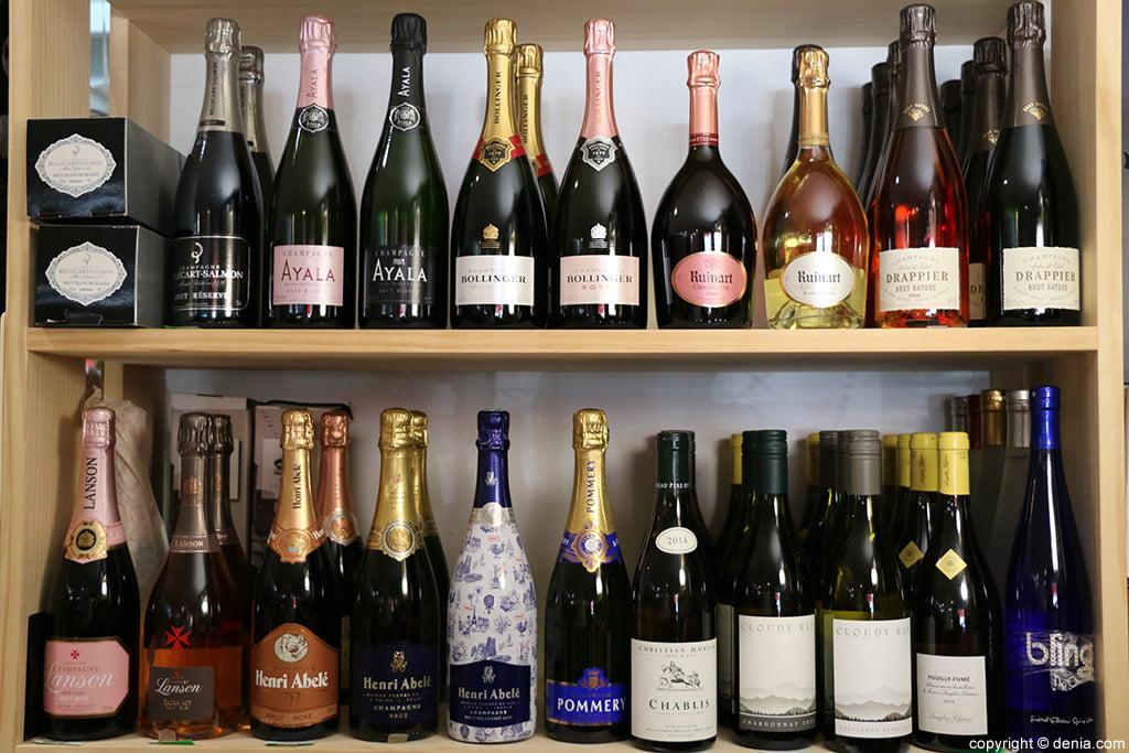 Champagnes La Bodega de Luis